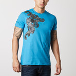 Versace Collection // Massimo T-Shirt // Blue (S)