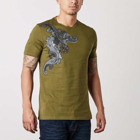 Monte T-Shirt // Olive (XS)
