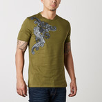 Versace Collection // Monte T-Shirt // Olive (XS)
