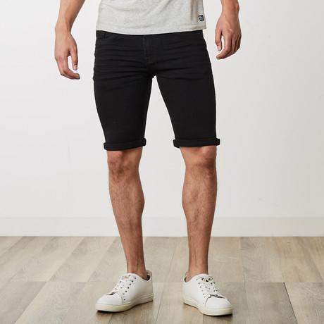 Roll Up Shorts // Jet Black (30)