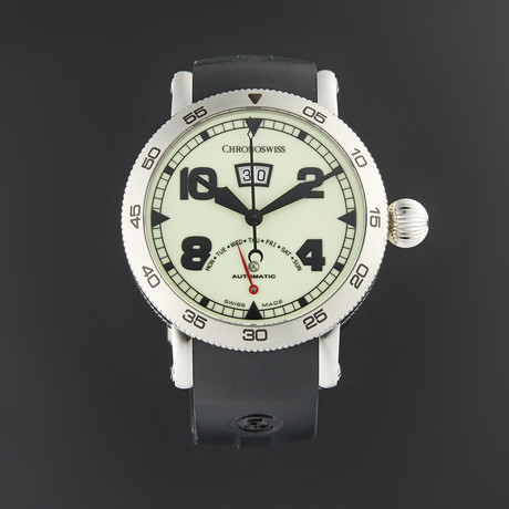 Chronoswiss Timemaster Retrograde Day Automatic // CH-8143-LU/71-2 // Store Display