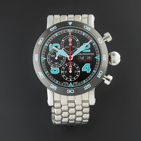 Chronoswiss Timemaster Chronograph Automatic // CH-9043B-DB/S0-2 // Unworn