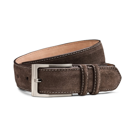 Glen Belt // Brown Suede (44)