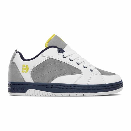 Czar Sneaker // White + Gray + Navy (US: 5)