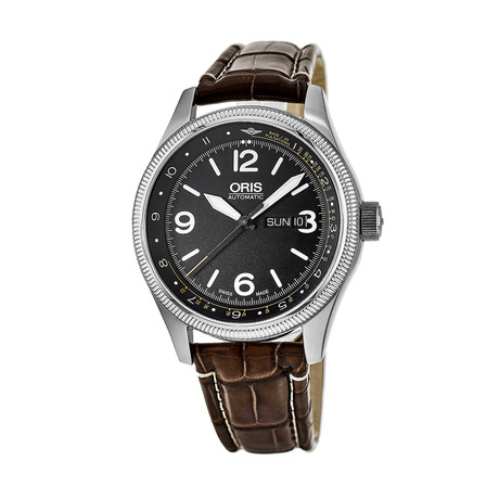 Oris Big Crown Automatic // 01 735 7728 4084-Set LS Kroko