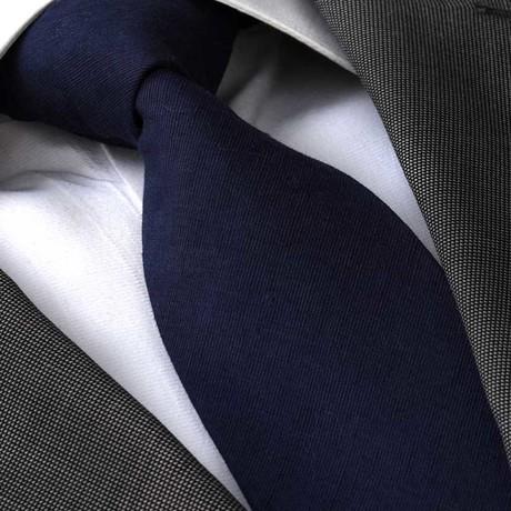 Waldo Silk Tie // Navy Blue
