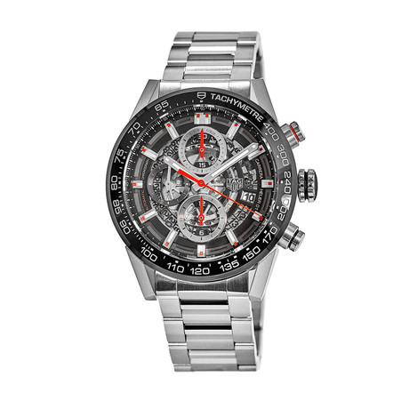Tag Heuer Carrera Calibre Heuer 01 Chronograph Automatic // CAR201V.BA0714