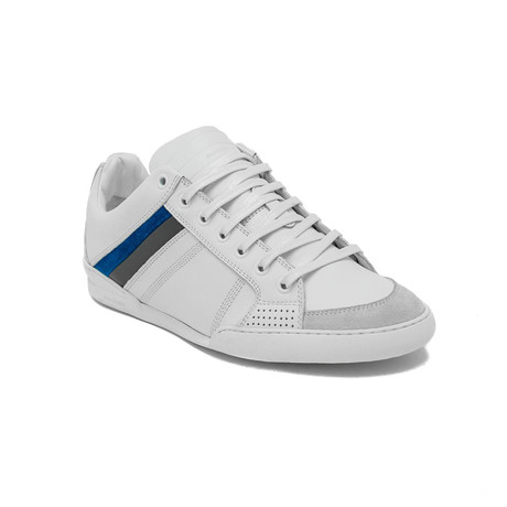 Dior // Leather Low-Top Sneakers // White (US: 7)