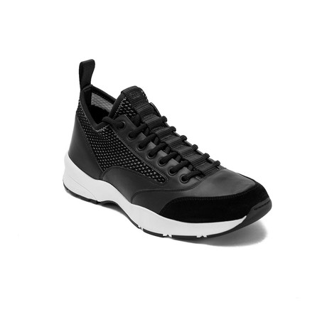 Dior // Leather Mesh Trainers // Black (US: 6)