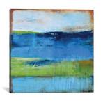 "Blue Ridge Escape II // Erin Ashley (12""W x 12""H x 0.75""D)"