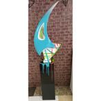 Unique Sail Sculpture W/ Base