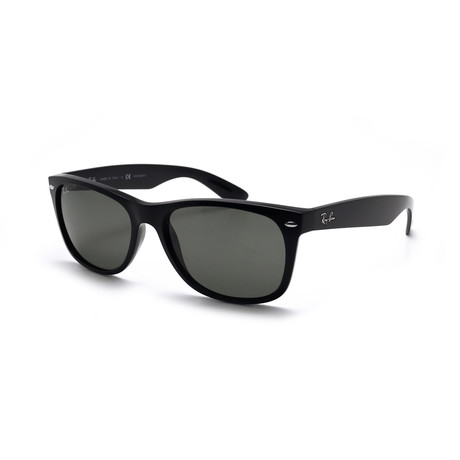 Unisex New Wayfarer Classic Sunglasses // Shiny Black