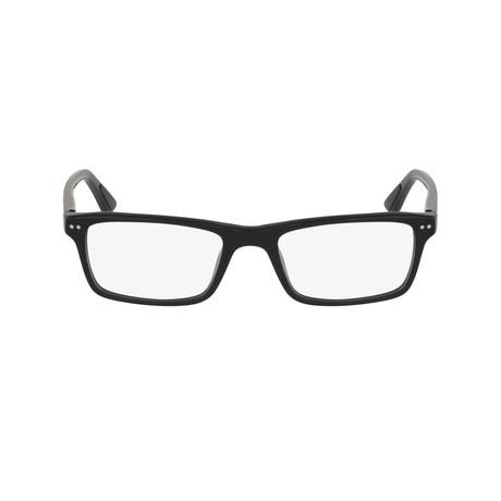 Men's Rectangle Optical Frames V2 // Black