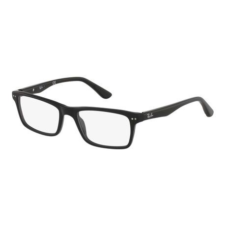 Men's Rectangle Optical Frame V2 // Black
