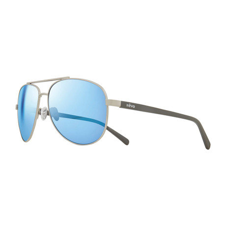 Shaw Polarized Aviator // Black + Blue Water
