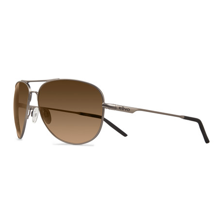 Windspeed Polarized Aviators // Bronze + Terra