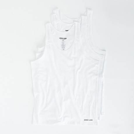 Tank Top // Pack of 3 // White (S)