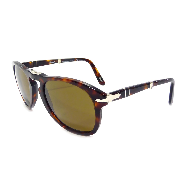 6182a244ed50 714 Iconic Folding Sunglasses // Havana + Brown Polarized - Persol ...