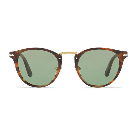 Acetate + Metal Sunglasses // Havana + Green