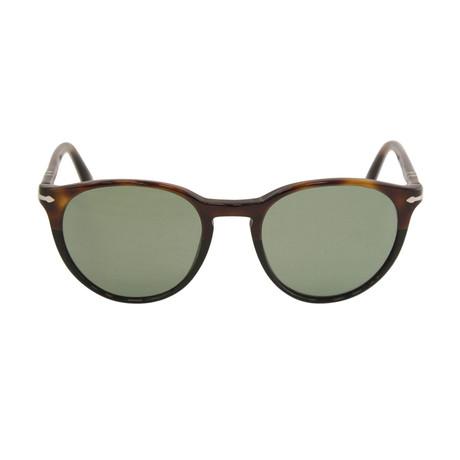 Classic Round Sunglasses // Tortoise + Black + Gray