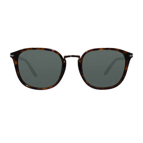 Rectangle Combo Evolution Sunglasses // Havana + Gray