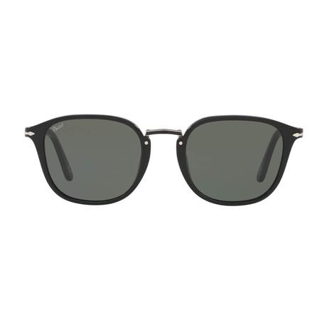 Rectangle Combo Evolution Sunglasses // Black + Gray