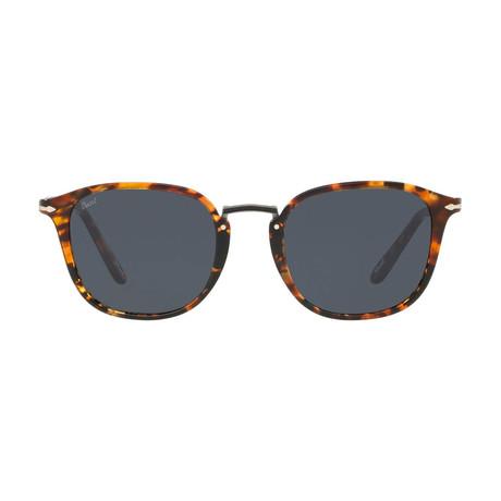 Rectangle Combo Evolution Sunglasses // Tortoise Brown + Gray
