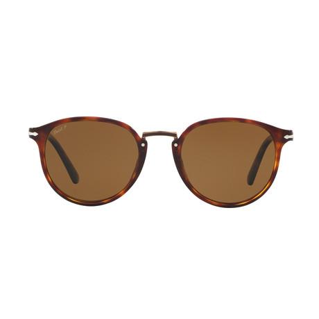 Typewritte Edition 3210 Sunglasses // Havana + Polarized Brown