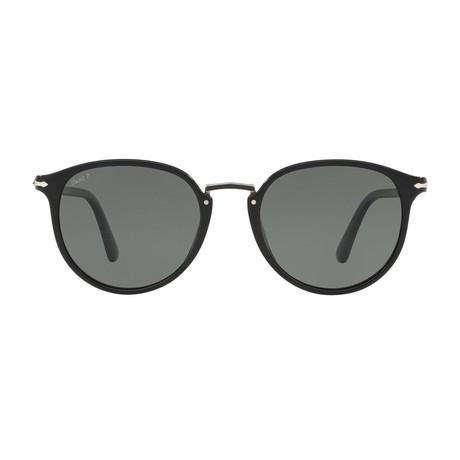 Typewritte Edition 3210 Sunglasses // Black + Polarized Gray