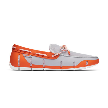 Stride Lace Loafer // Alloy + Orange (US: 10)