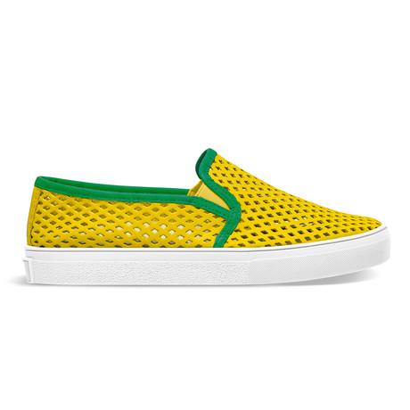 Classic Jib // Yellow + Green (US: 9)