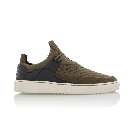 Castucci Casual Sport Sneaker // Green + Black (US: 7)