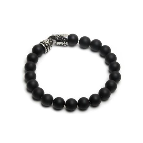 New York Bracelet // Matte Onyx