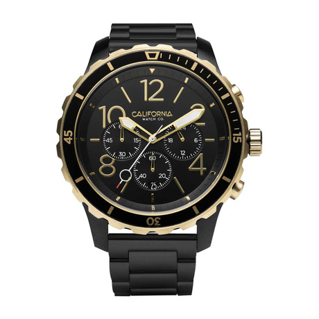 California Watch Co. Mavericks Chronograph Quartz // MVK-3535-03B