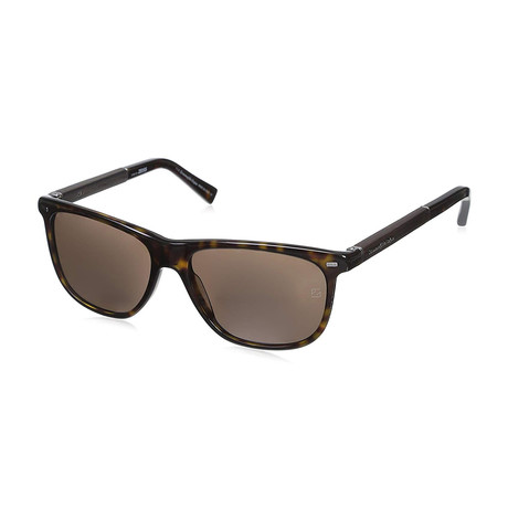Zegna // Classic Sunglasses V1 // Tortoise + Brown
