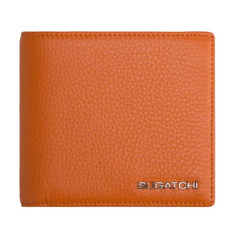 Napa Leather Wallet // Orange