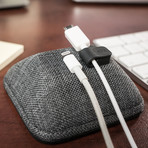 Cable Wrangler // Magnetic Cable Organizer (No. 2 Pencil Gray)