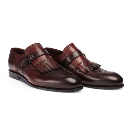 Maarten Classical Shoes // Claret Red (Euro: 38)