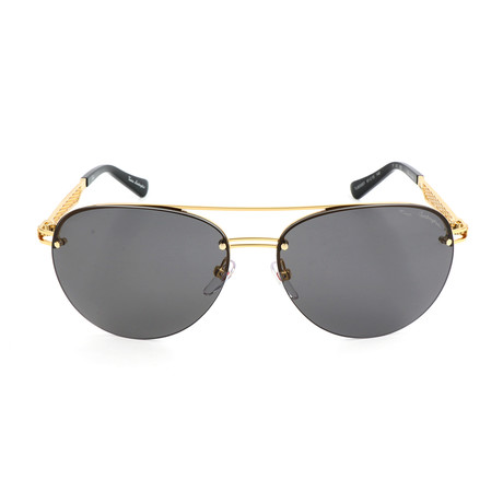 Grid TL603 S01 Sunglasses // Gold