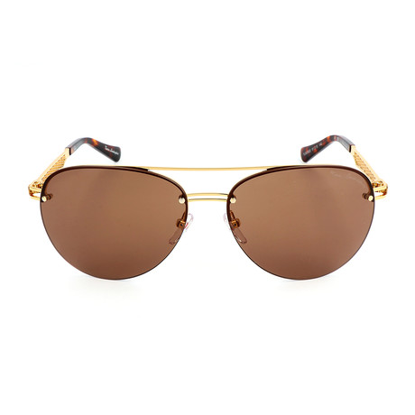 Grid TL603 S02 Sunglasses // Gold