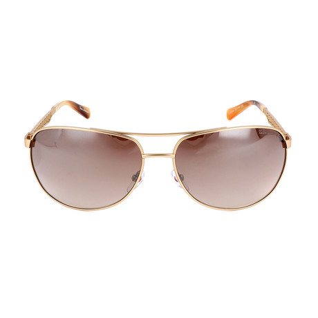 TL604S02 S02 Sunglasses // Gold