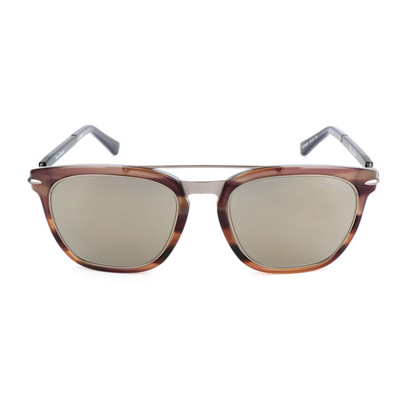 Gear TL800 S03 Sunglasses // Brown + Gunmetal