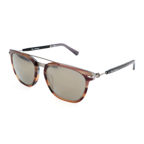 Men's Gear TL800 S03 Sunglasses // Brown + Gunmetal