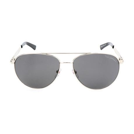 TL801 S01 Sunglasses // Silver