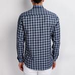 G652 Button-Up Shirt // Dark Blue (S)