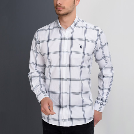G656 Button-Up Shirt // White (S)