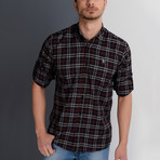 Theon Button-Up Shirt // Black (Medium)