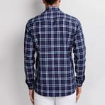 G659 Button-Up Shirt // Dark Blue (S)