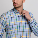 G660 Button-Up Shirt // Blue (S)