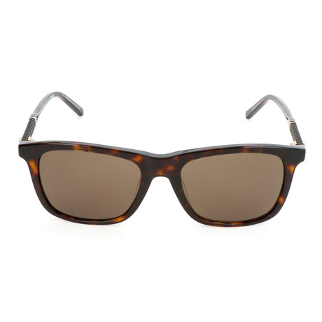 MB606S 52E Sunglasses // Dark Havana